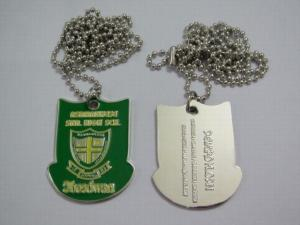 China Dog Tags / Custom Cheap Printing Stainless Steel Metal Dog Tag on sale