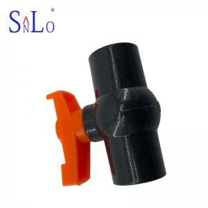China Water System UPVC Pipe Fittings , PVC Compact Ball Valve Long Life on sale