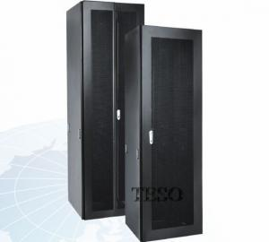 China Standing 42U Server Rack Cabinet IP20 With Cold Rolled Steel on sale