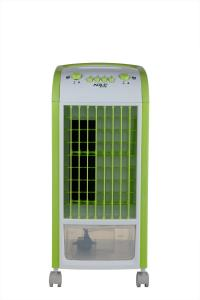 China 700m3 / h Green Air Cooler And Heater With Caster Wheel , Air Cooling Fan on sale