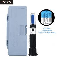 Portable Digital Hand Held Refractometer Automatic Temperature Compensation