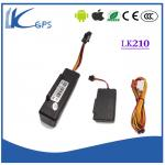China High qualityTracker Motorcycle Device Support Movement Alert And Power Off Alert ,Realtime GPS Tracking Devi Black LK210 wholesale