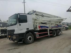 China Second Hand Concrete Mixer Trucks / Concrete Pump Truck 37m  38m 47m 48m on sale