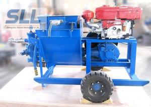 China Single Cylinder Cement Mortar Pump For Hydropower Construction Convenient Maintenance on sale