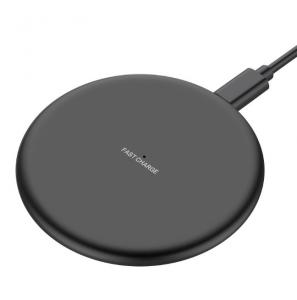 China Mobile Phone Fast QI 10W Wireless Charger For iPhone Samsung Galaxy, Custom Universal Desktop Wireless Charger on sale