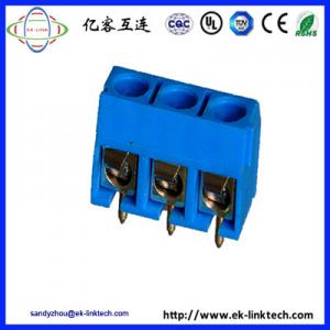 China F11-6-5.0 PCB  PCB Mount Screwless Spring Terminal Block connector on sale