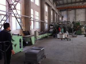 China Indoor PVC Floor Tile Production Line 3.2mm-6mm Thickness Simple Color on sale