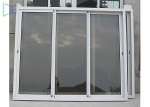 China Residential Aluminium Sliding Windows And Doors / Double Glass Sliding Window supplier
