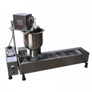 China High Efficiency Electric Automatic Donut Maker Machine , Commercial Donut Making Equipment 3000W on sale