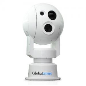 China Super wind-resistant spherical turntable multi spectrum Laser Infrared Thermal Imaging camera GCS-MS550IR2 on sale