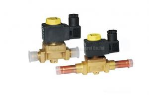 China Brass 2 Way Brass Solenoid valve Castel Equivalent For Refrigeration System on sale