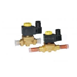 China Brass 2 Way Brass Solenoid valve Castel Equivalent For Refrigeration System on sale