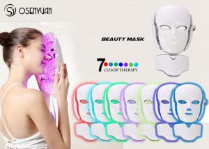China PDT LED Light Therapy Face Mask , Led Photon Therapy Mask CE ROHS Approved on sale