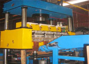 China Automatic Wire Mesh Fence Panel Machine , Gutter Steel Grating Welding Machine on sale