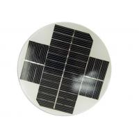 Small Size Round Solar Panel OEM Dimension With High Module Conversion Efficiency