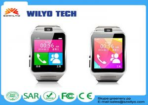 """China 1.54""""Touch Screen Gsm Cell Phone Wrist Watch GV08 Bluetooth Watch Gold 2.0Mp on sale"""