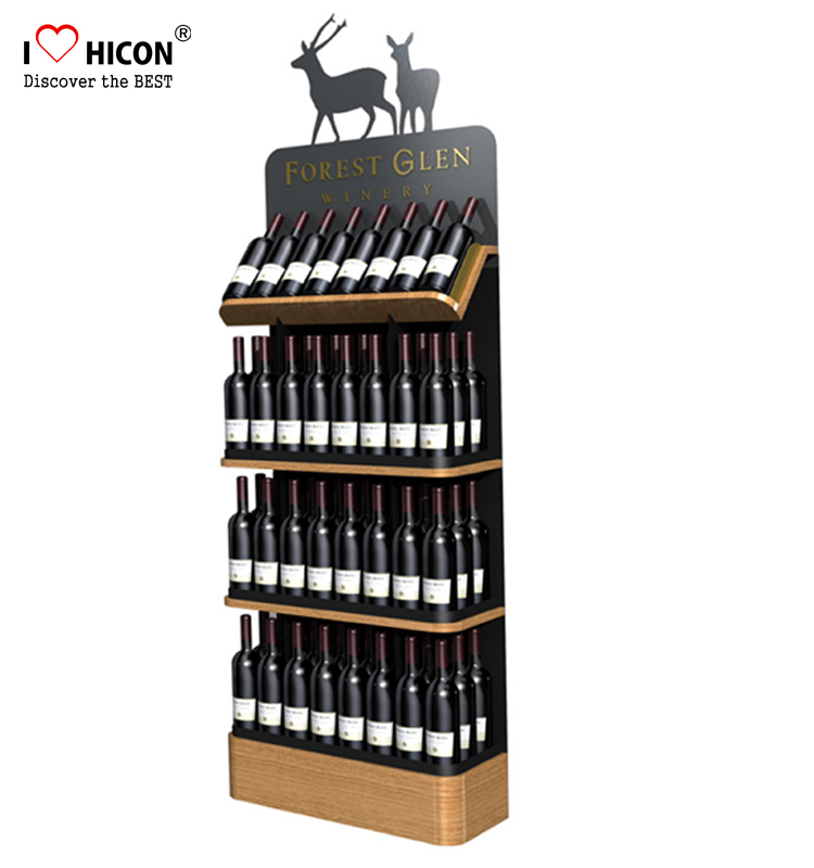 freestanding custom wooden wine display rack for liquor store rh retaildisplaystand sell everychina com