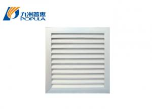 China Automatically Grilles Ventilation Damper Backdraft Damper Easy Removable on sale