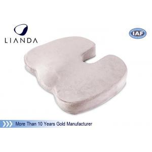 China Hot Sell Coccyx Orthopedic Comfort Memory Foam U shaped Seat Cushion on sale
