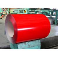 Pre Painted GRADE 340 Ppgl Steel Coil , ASTM A755M NIPPON BECKER Galvalume Roll