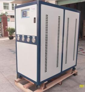 China Overload Protection Stainless Steel Water Loop R407C /R134A / R22 Refrigerant Industrial Water Cooling Chiller on sale