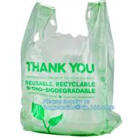 Environmental Protect Clear Plastic Bag On Roll Wholesale With Logo, Friendly Oxo-biodegradable Compostable Colored Tras