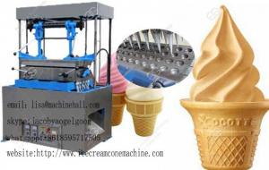 China Ice Cream Cone Wafer Maker Machine Supplier|800pcs/h Wafer Ice Cream Cone Making Machine For Sale on sale