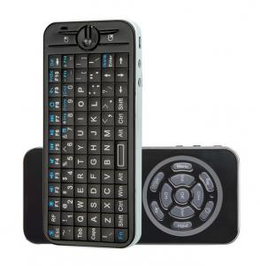 China 82 keys handheld black fly mouse Mini Wireless Keyboard for Google / Android TV  / Player on sale