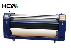 China Garment Large Roller Heat Transfer Machine , Digital Heat Transfer Printer Machine on sale