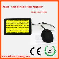 China Big Display 7inch CCTV Portable Low Vision Video Magnifier on sale
