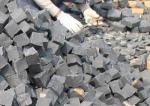 Pedra de pavimentação do granito preto do cobalto, 10x10x10cm