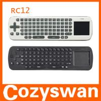 2.4GHZ Wireless Air Fly Mouse RC12 Remote Control Touchpad Keyboard  for Google Android