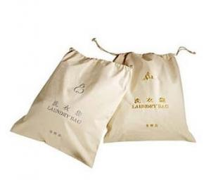 China high quality hotel canvas laundry bag on sale