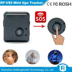 China Worlds smallest sim card gps tracking device gps tracker SOS button for personal on sale