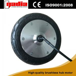 China 8 inch 36v 150w electric wheel hub motor gearless motor on sale