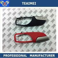 Decorative Balck / Red Blade Car Keychains , Metal Chevrolet / Suzuki Key Ring