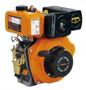 China High Performance Diesel Powered Engine , OHV Single Cylinder Diesel Engine on sale