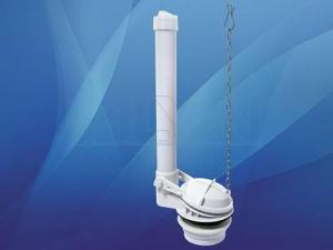 China Toilet tank fittings of single flush valve on sale