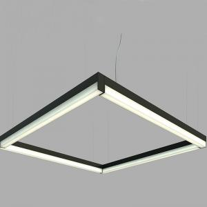 China Office Led Pendant / Ceiling Linear Lighting Fixture , Linear Led Shop Light on sale