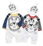100% Cotton Autumn Kids Garments Thick Baby Clothing Sets Baby  Bodysuit Clothing