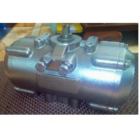 stainless steel (SS) rack and pinion quarter-turn  pneumatic rotary actuators for butterfly valves ball valves