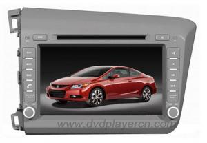 China Honda Civic 2012 Car DVD Stereo Audio Video Navigation on sale