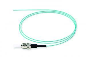 China ST / UPC 50 / 125 SEMI TIGHT BUFFERED Fiber Optic Pigtail OM3 LSZH on sale