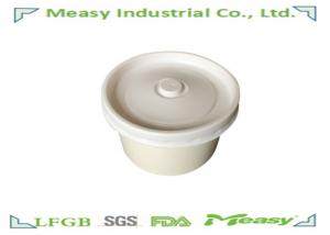 China Takeaway biodegradable Disposable Paper Bowl 8oz 12oz 16oz With Lid on sale