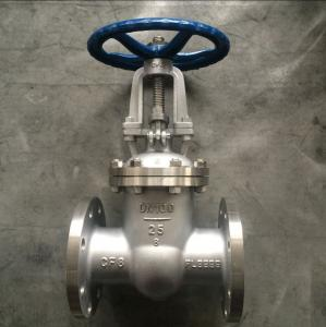 China Z41W-25P GB Metal Gate Valve ,  Flange Gate  3 Inch Stainless Steel Gate Valve on sale