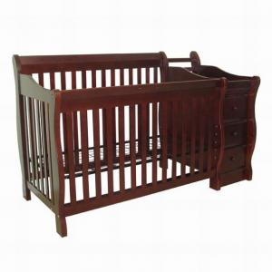 China High quality durable New Zealand solid wooden baby crib baby cot baby bed on sale
