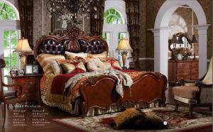 China Hot Selling Hotel Adult Solid Ash Wood Bedroom Furniture Set on sale