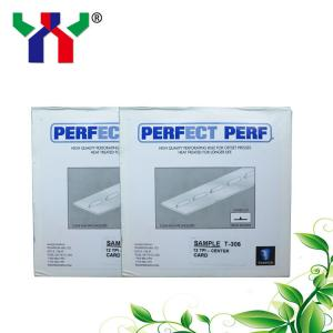 China Perfect perf T-409 center 16TPI use for tear-off paper on sale