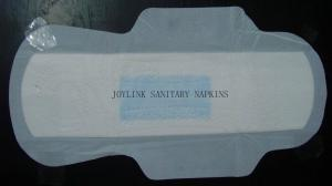 China Ultra Thin Feminine Napkins With Blue Inner Layer on sale