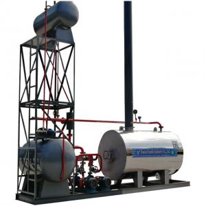 China Frie Tube Induction Heating Boiler Thermal Oil Boiler Price For Plastics And Rubber Industry on sale